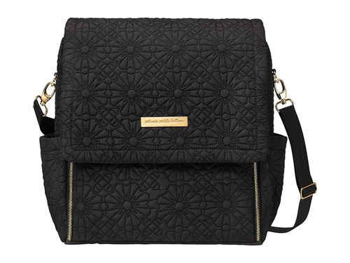 Petunia Pickle Bottom Embossed Boxy Backpack Bedford Avenue Stop Special Edition Backpack Bags Black A2jXT9