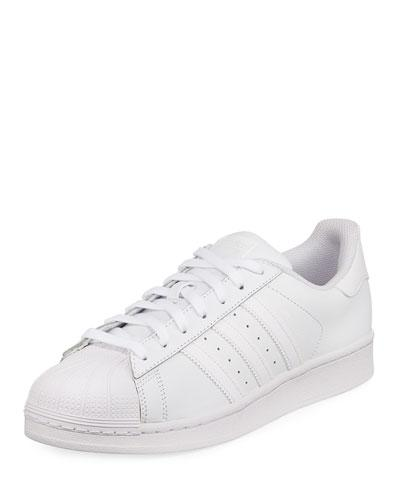 adidas Men's Superstar Foundation Leather Sneaker White dJU8dYx4eg