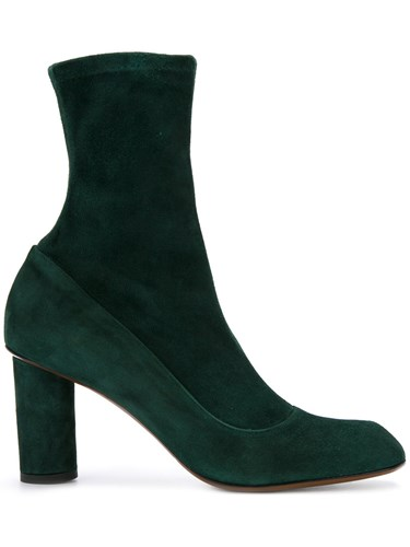Christopher Esber Contoured Axel Boots Leather Suede Polyester Green qU7kmO6yVW