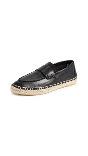 Vince Daria Espadrille Loafers Black BLL6MkMfzx