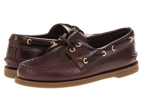 Sperry Authentic Original Amaretto Lace Up Casual Shoes Brown miNneJLmUL