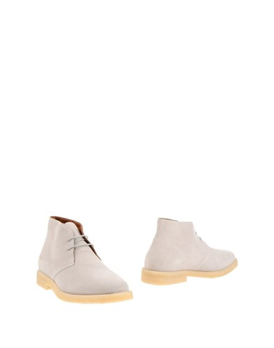 Common Projects Ankle Boots Light Grey gTy2UxR7