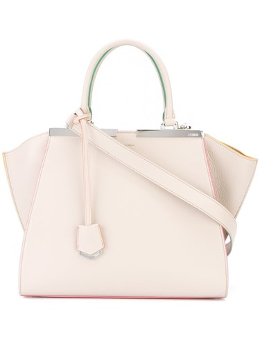 Fendi '3Jours' Tote Nude And Neutrals R7ngd