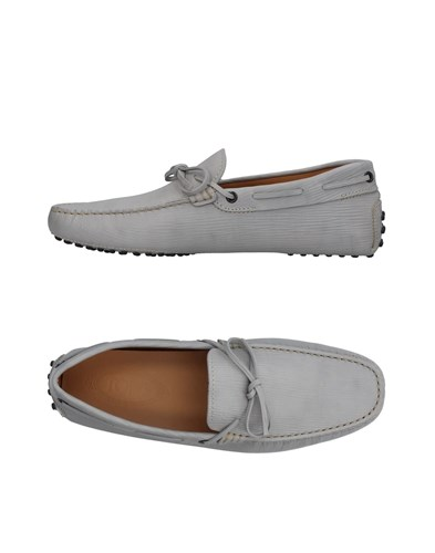Tod's Loafers Light Grey T1A4OX