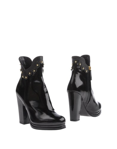 Black amp; Moschino Cheap Chic Ankle Boots PczYqw
