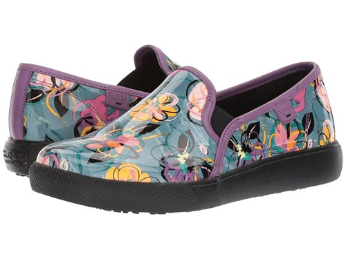 Klogs Footwear Reyes Graphic Pansy Slip On Shoes Multi syofHphJ