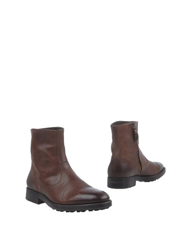 N.D.C. Made By Hand Ankle Boots Dark Brown w2lU8xb