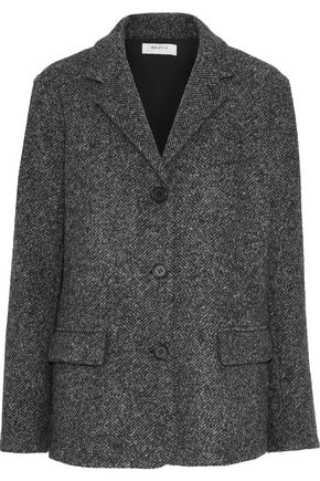 Papa Bear Tweed Blazer Dark Gray