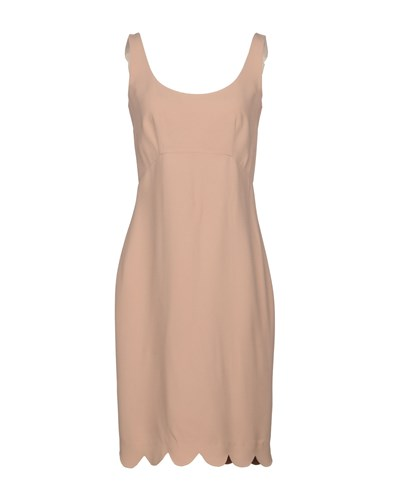 Aquilano Rimondi Knee Length Dresses Skin Color ccj48
