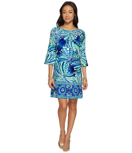 Pulitzer Dress Agate Engineered Blue Boat Ophelia Dress Dress Women's Roe Green Lilly Your qpERwOdqn