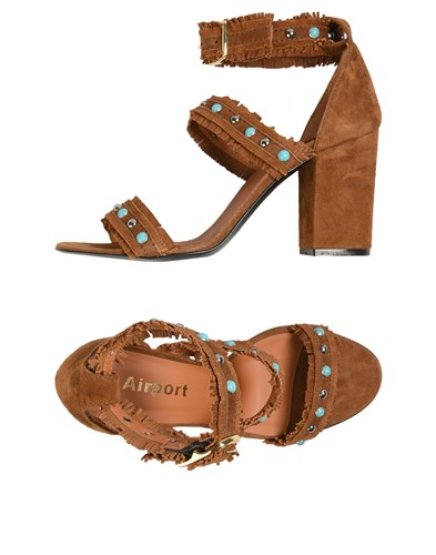 AIRPORT Sandals Brown rTermb