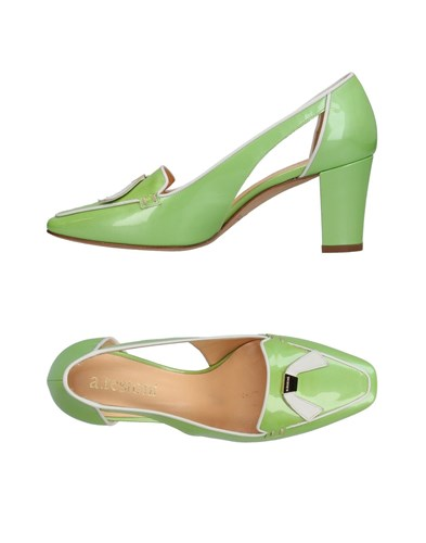 A.Testoni Loafers Acid Green RkbJh504qF