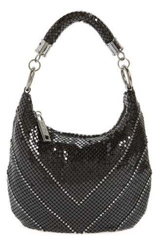 Bag Black Little Black Mesh amp; Whiting Shoulder Davis q4EYWwt