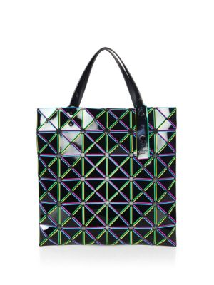 Issey Miyake Lucent Comet Tote Black Multi caky7j02PV