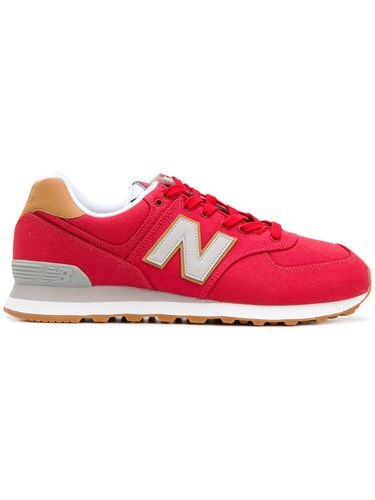 New Balance 574 Sea Escape Sneakers Red rjUp3pXvx