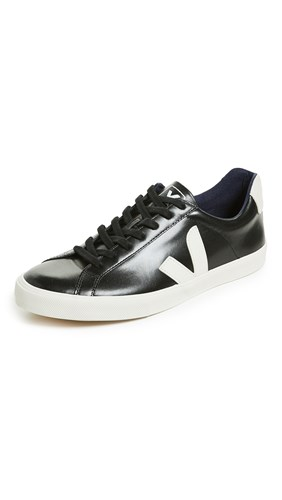 Veja Low Logo Esplar Pierre Sneakers Black xF6qZ4Fgn