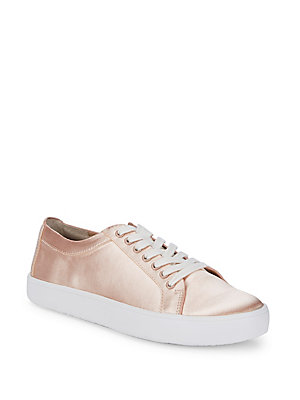 Saks Fifth Avenue Tia Low Top Sneakers Pink gzBWHO6