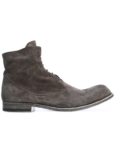 Brown Boots Lace Bubble Up Officine Creative Ankle wqFfSOW