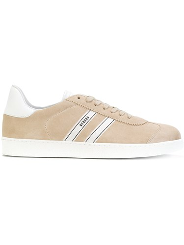 Versus Velvet Sneakers Leather Calf Suede Rubber Nude Neutrals RBbyA