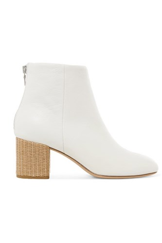 Rag and Bone Drea Leather Ankle Boots White nHPcpeit