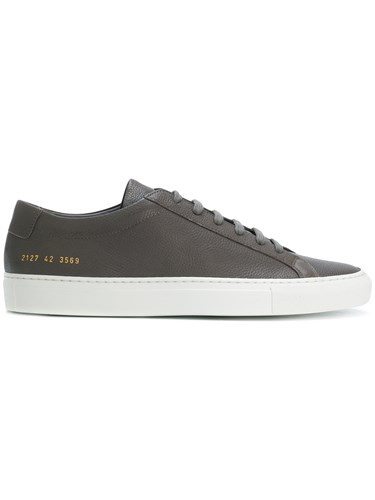 Common Projects Lace Up Sneakers Grey STz5V