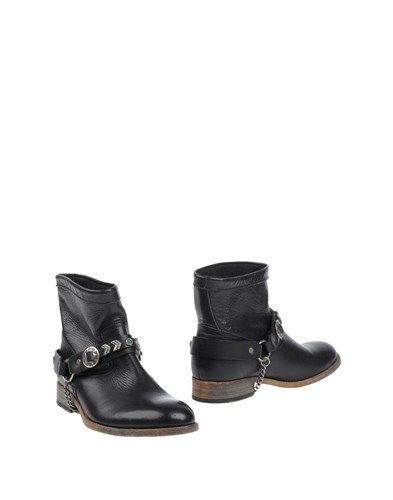 HTC Ankle Boots Black dRSI9nqays