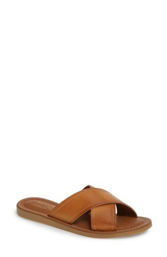 By Evelina Sandal Tuscany Slide Street Faux Natural Leather 'S Easy wIOvv5WxqC