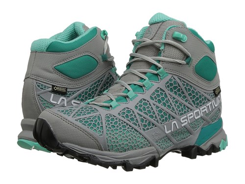 La Sportiva Core High Gtx Grey Mint Women's Shoes Gray AvITl
