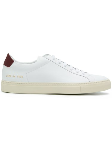 Common Projects Achilles Retro Low Top Sneakers White ZFR2NMJrB