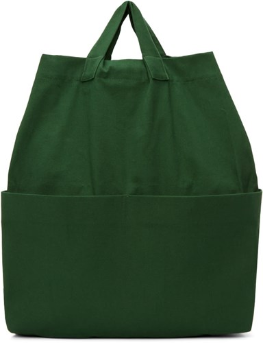 Phoebe English Green Canvas Backpack l1lC7QpOL