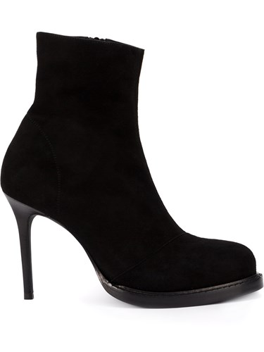 Ann Demeulemeester Ankle Boots Black q2PUT