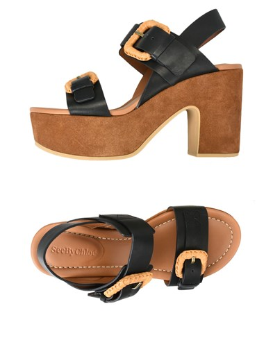See by Chloe Sandals Black LkZ7L0iA
