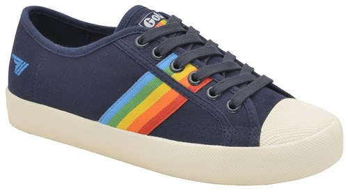 Coaster Up Lace Gola Blue Rainbow Trainers dqAp8W7P