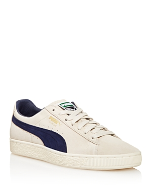 Puma Men's Suede Classic Sneakers Gray Navy T6gV7c9r