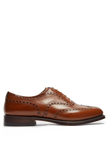 Church's Burwood Leather Brogues Brown uCjRIt
