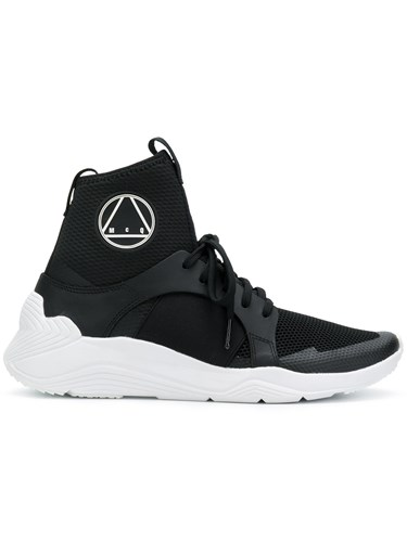 McQ by Alexander McQueen High Ankle Sneakers Black dBStRse