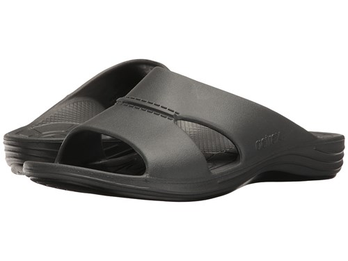 Sandals Slide Gray Lynco Charcoal Aetrex Cgw7q7