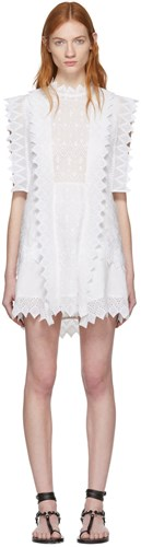 Isabel Marant White Nubia Dress 12t4ChA