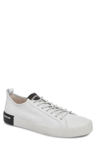 Blackstone Pm66 Low Top Sneaker White Leather Z0AdavIs09