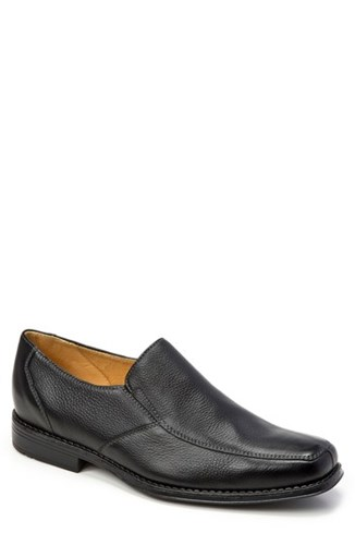 Sandro Moscoloni Renzo Square Toe Slip On Black l1Hyu