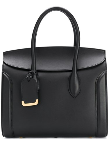 Alexander McQueen Heroine Tote Bag Women Leather One Size Black NJtQVafVPX