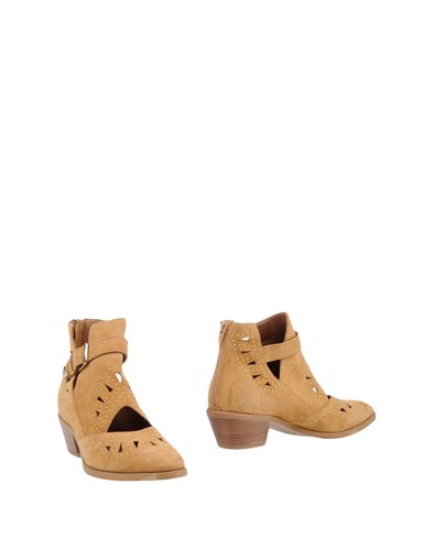 MOROBE Ankle Boots Sand cGYyzZ0XTF