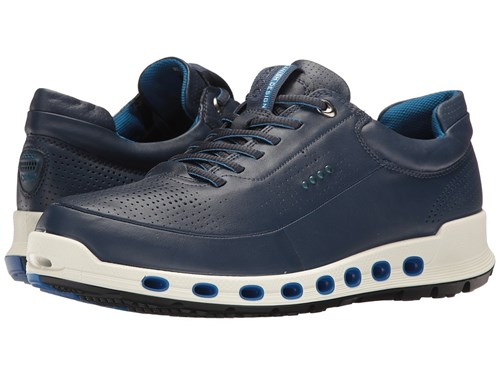 Ecco Sport Cool 2.0 Leather Gtx True Navy Lace Up Casual Shoes OjLQKagqV