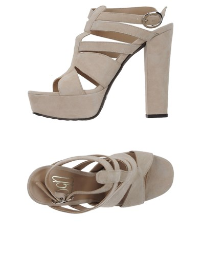 Giancarlo Paoli Sgn Sandals Ivory HdtZCdBeYM