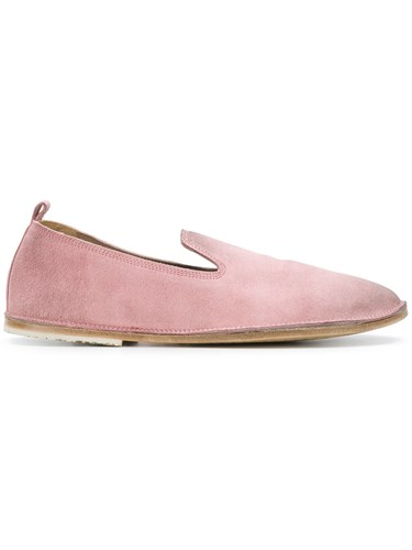Marsèll Classic Loafers Leather Suede Pink Purple anO7FaQkP