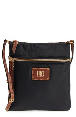 Frye Ivy Water Resistant Crossbody Bag Black xDC5nK
