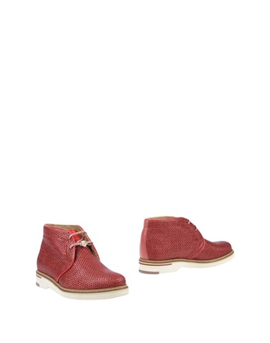 Brimarts Red Ankle Ankle Brimarts Boots C8xXWwvq