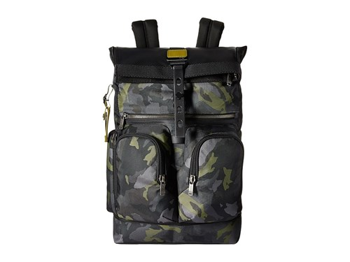 Tumi Alpha Bravo London Roll Top Backpack Green Camo Backpack Bags fBXNsoXzC