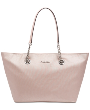 Calvin Klein Florence Small Tote Rose Gold ezle2t2I