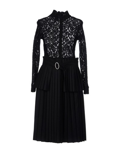 Paola Frani Knee Length Dresses Black bluoeRbo
